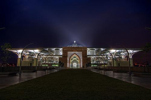 Malasias new landmark - Tuanku Mizan Zainal Abidin Mosque.