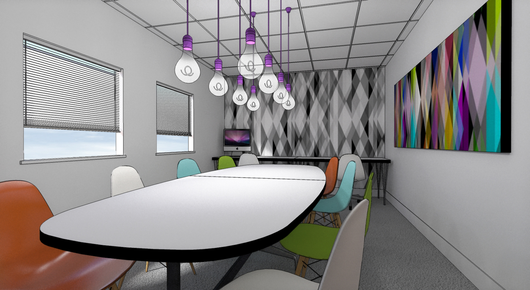Interior design and architecture news and views for Creative agency interior design